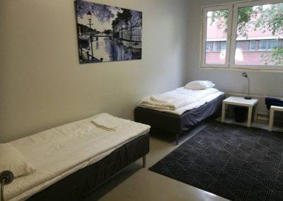 Tilavia 2-4 hengen huoneita